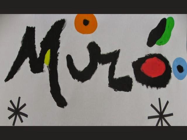 Recorrido por la obra de Miró