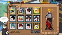 Cheats Ninja Saga - HairStyle 3rd Anniversary