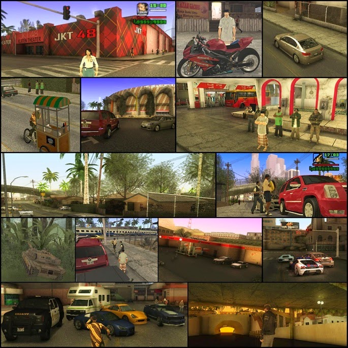 Screenshots GTA Extreme v.54