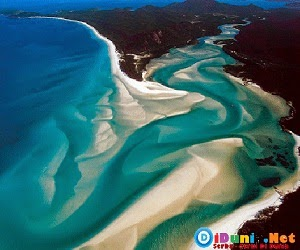 Pulau pasir terluas didunia