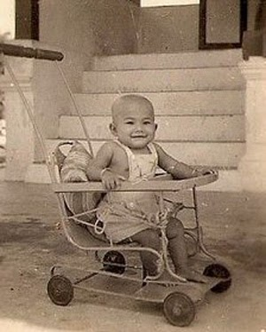 1956 - Myself At One Year Old