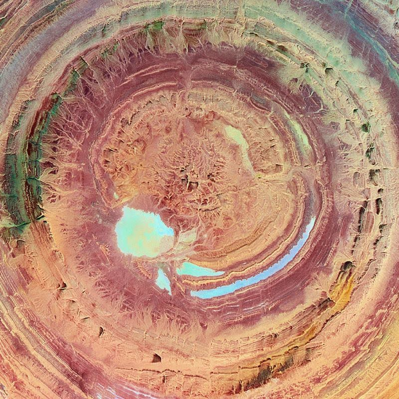 Eye Of The Sahara | The Richat Structure