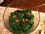 Warm Kale and Carrot Salad, Food Day - Dec 11