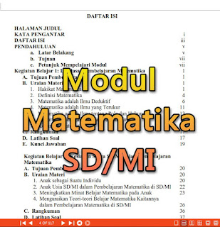 Modul Matematika SD/MI