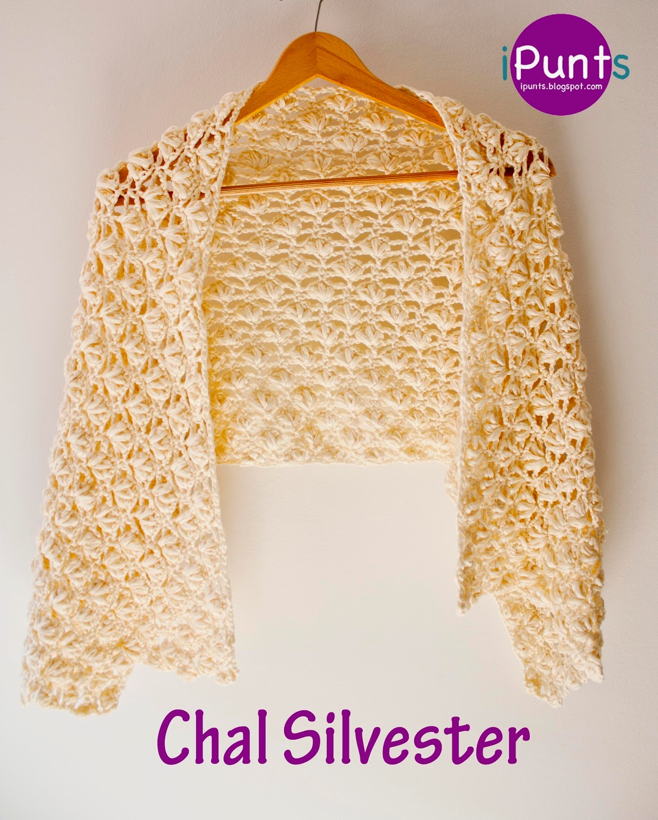 Chal Silvester Punto Flor De Crochet Paso A Paso Con V Deo - Punto ...