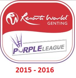 Resorts World Genting Purple League 2015/16 live streaming and videos