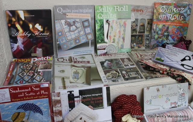 Libros de Patchwork y Quilt en Vilabors