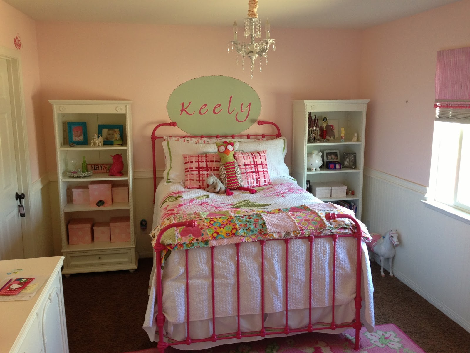 3 little things keely 39 s big girl room make over part 2 for Girl room ideas pinterest