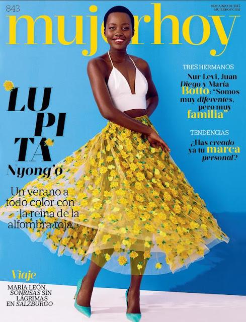 Actress, Model @ Lupita Nyong'o for MujerHoy June 2015