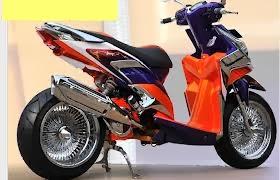 Modifikasi Honda Vario Techno 125 PGM-FI CBS,   Modifikasi sport PATI
