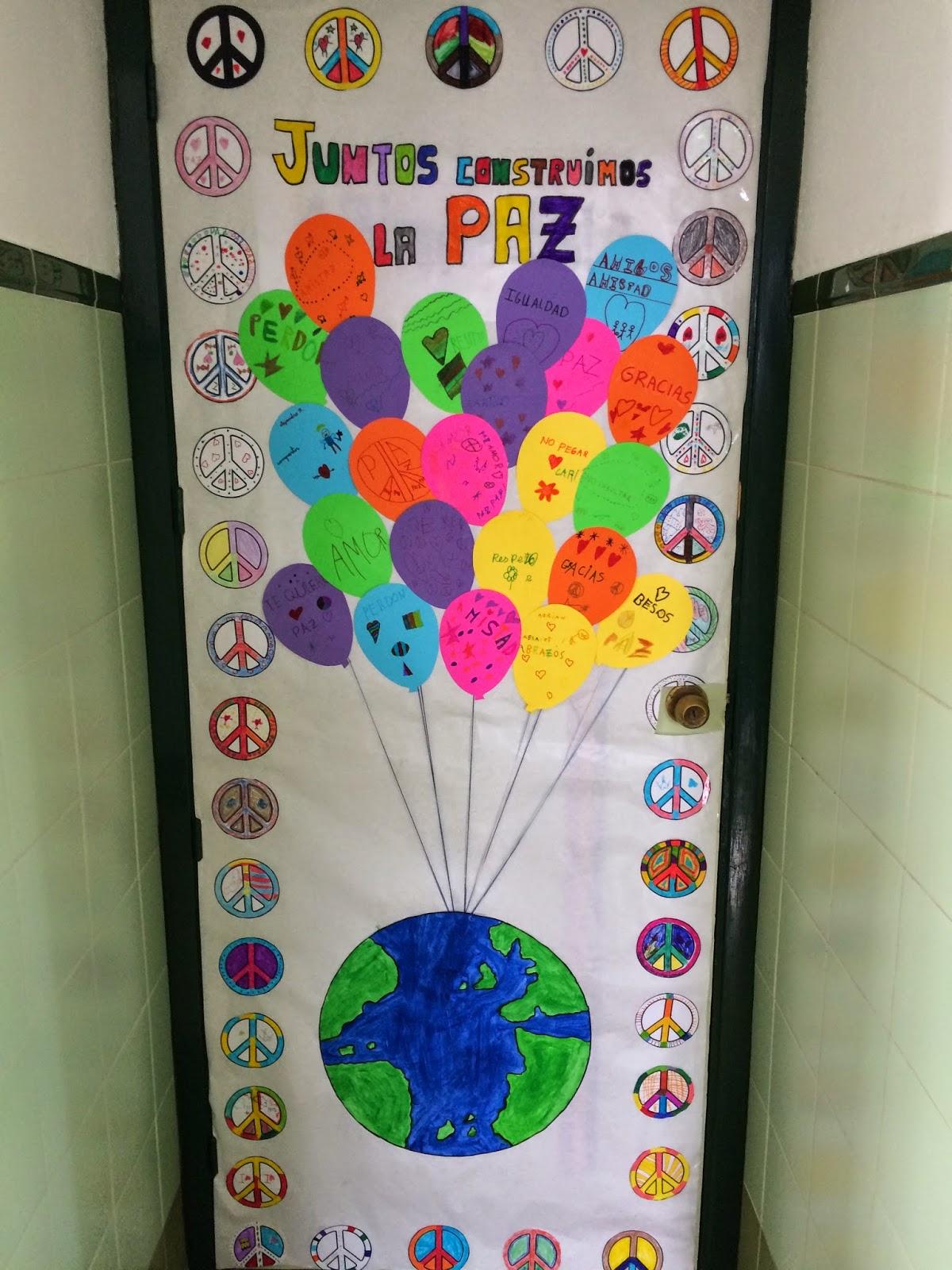 El rinconcito de segundo febrero 2015 for Puertas escolares decoradas