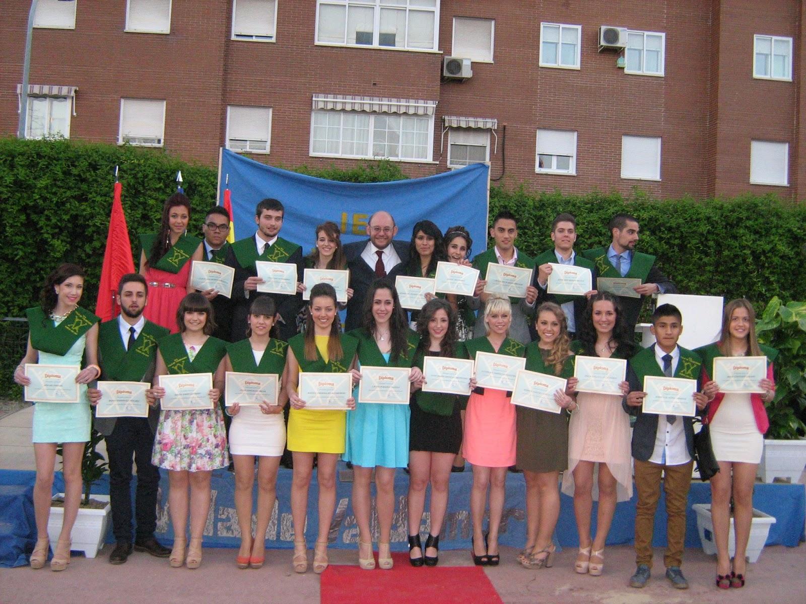 Trizas: Imágenes de la Graduación de Bachillerato 2013 (24-5-2013)