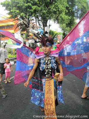 Fashion Show UNY adat daerah