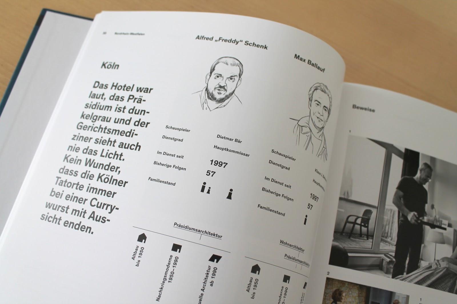Innenseiten Koelner Tatort Ballauf und Schenk Buch