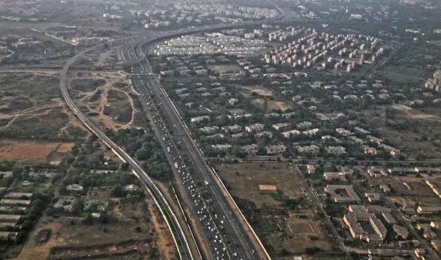 Delhi Gurgaon Expressway - Delhi Cantt