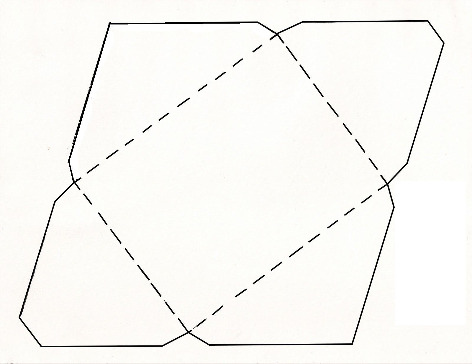 printable card envelope template