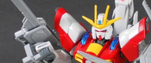 HGBF Burning Gundam with Lev Parts