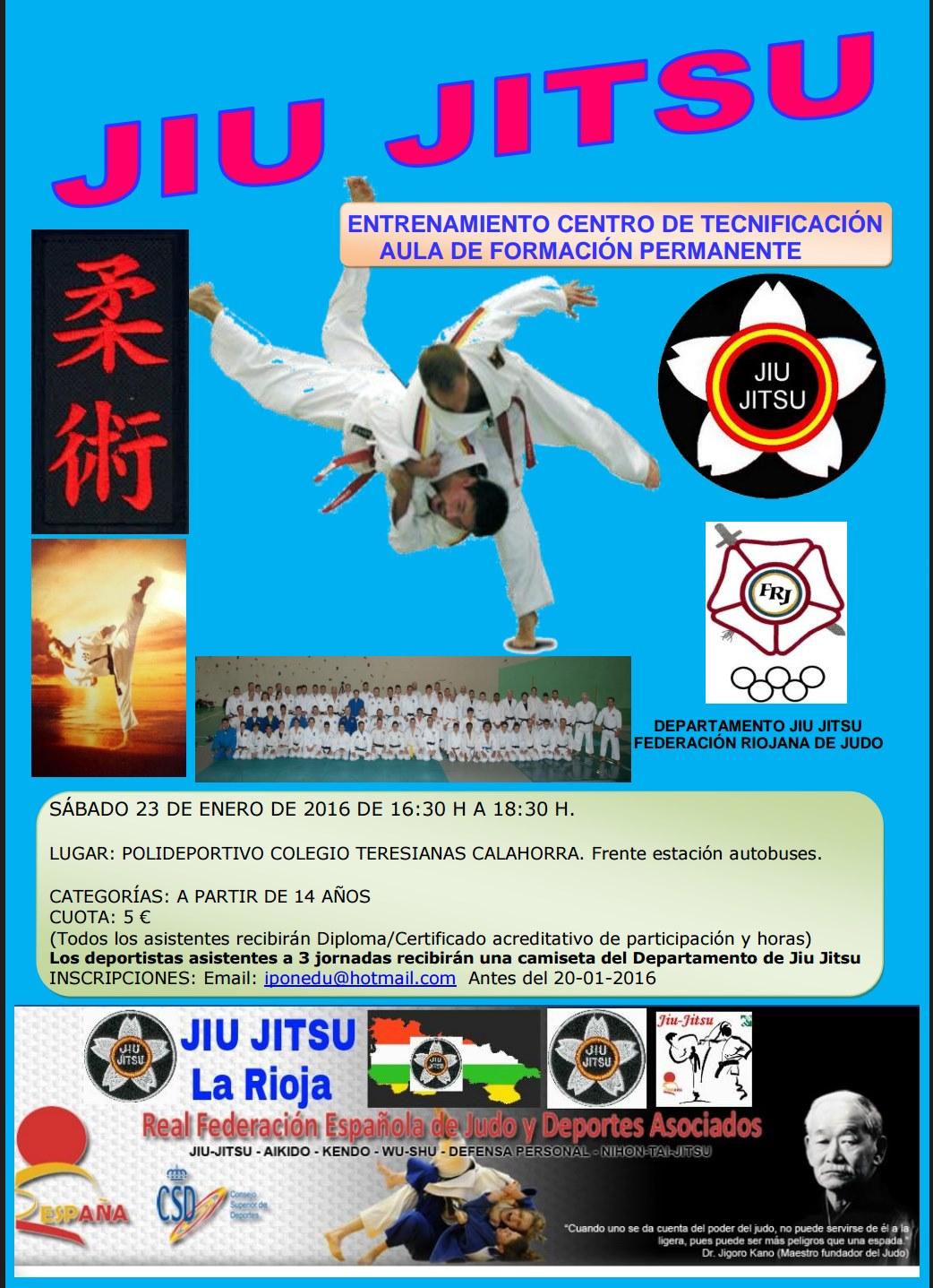 CENTRO TECNIFICACION JIU JITSU