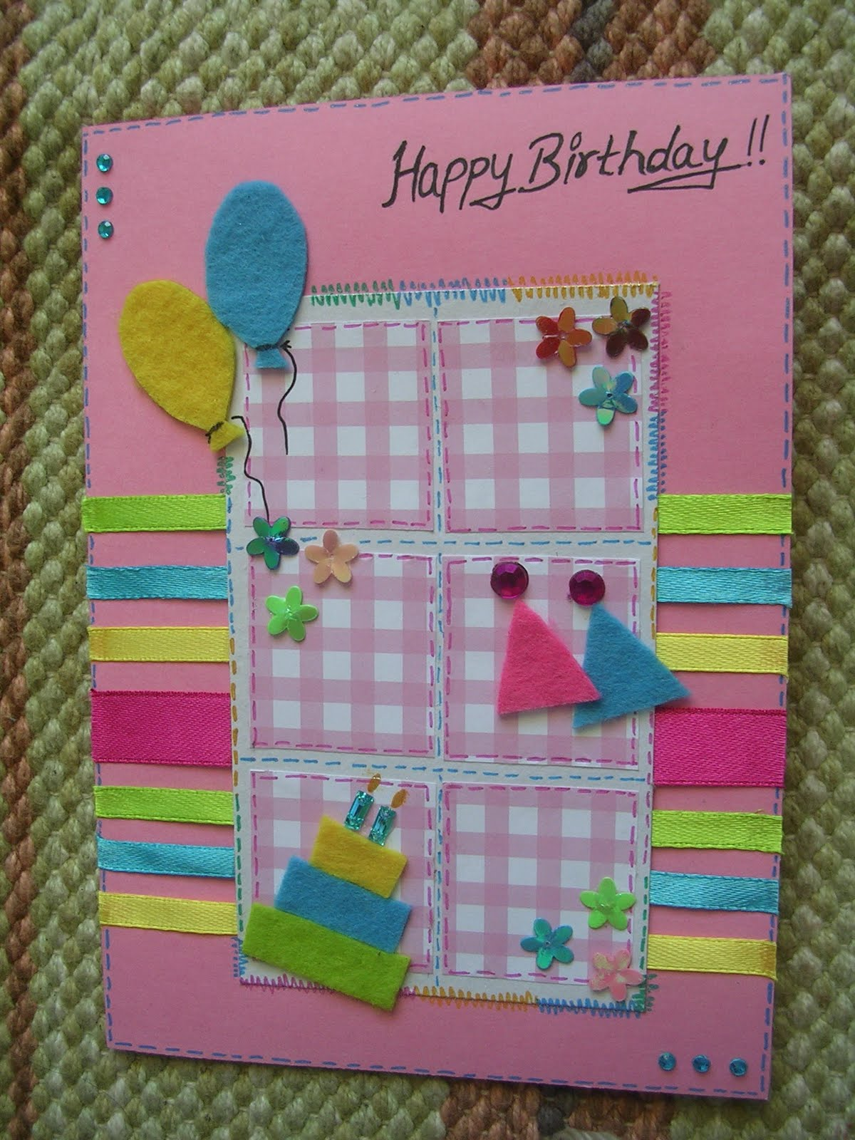 Collections The Handmade Stuff. 40th Birthday Handmade Card Ideas ...