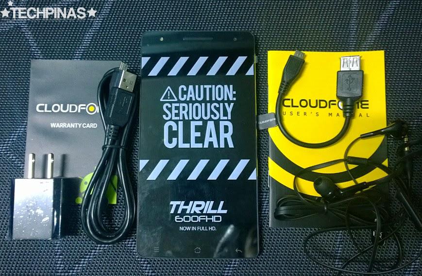 CloudFone Thrill 600FHD