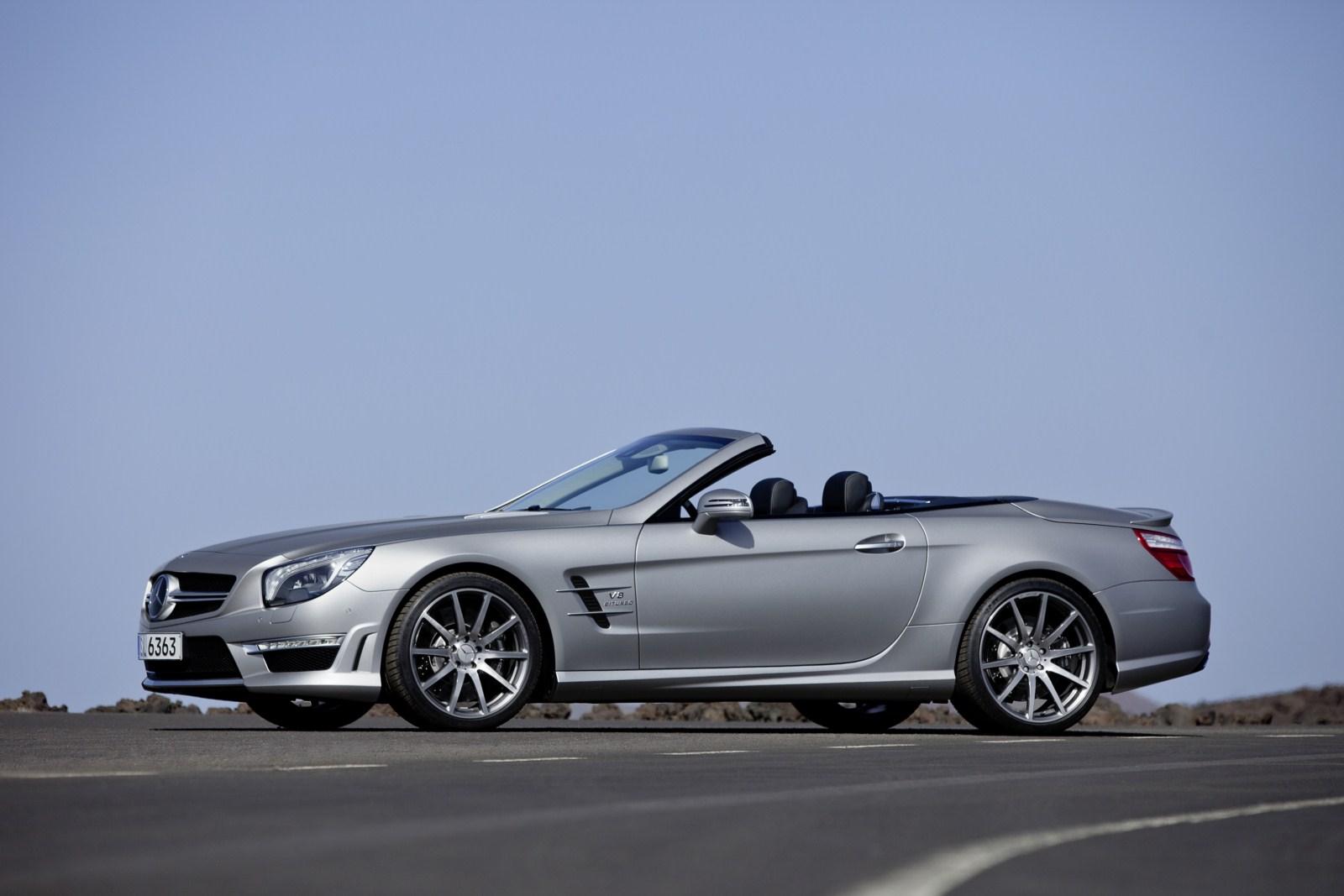 2012 mercedes benz sl63 amg convertible official garage car for Mercedes benz convertible tops