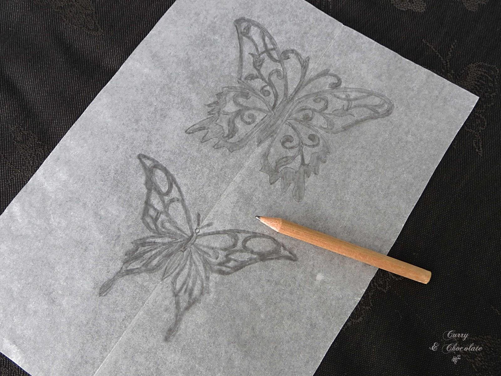 Mariposas para dibujar