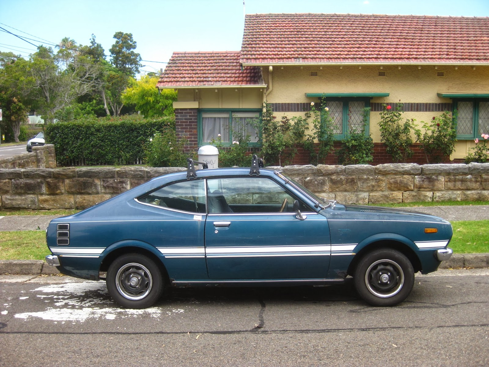 Aussie Old Parked Cars 1978 Toyota Corolla Cs Hardtop