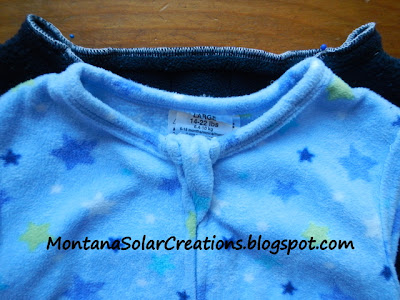 how to sew a baby sleep sack from a sweatshirt or sweater