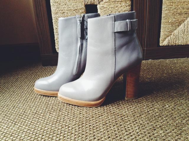 botines, gris, Zara, rebajas