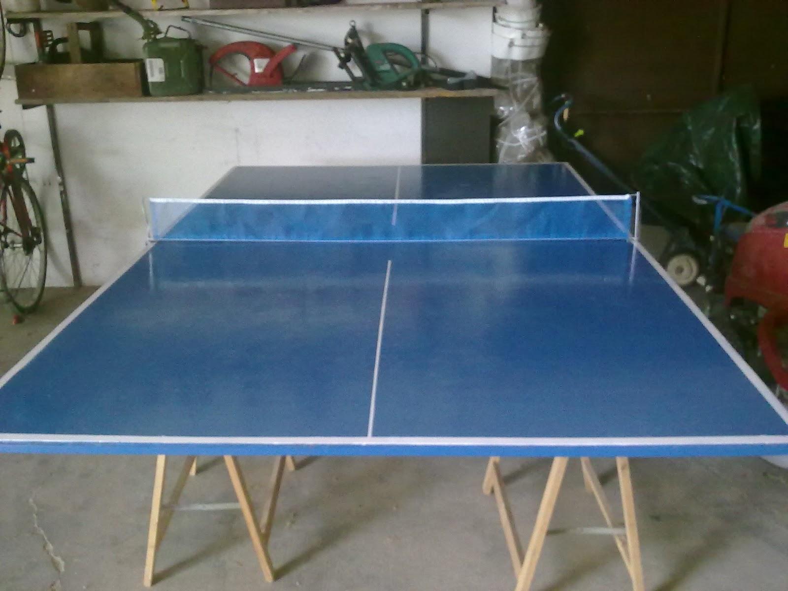 Fai da te - Costruire tavolo ping pong ...