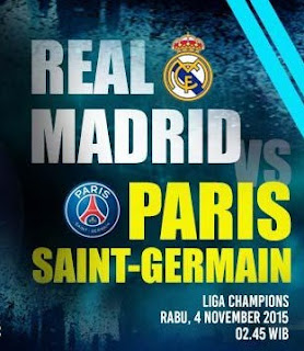 Madrid PSG Champions 04 November 2015