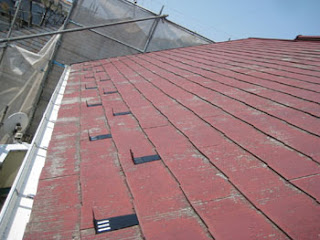 川崎市 高津区 スレートコロニアル屋根 雪止め 施工後