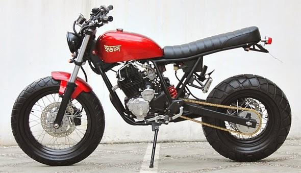 Yamaha Scorpio Z Modifikasi Terbaru Kumpulan Foto dan Gambar