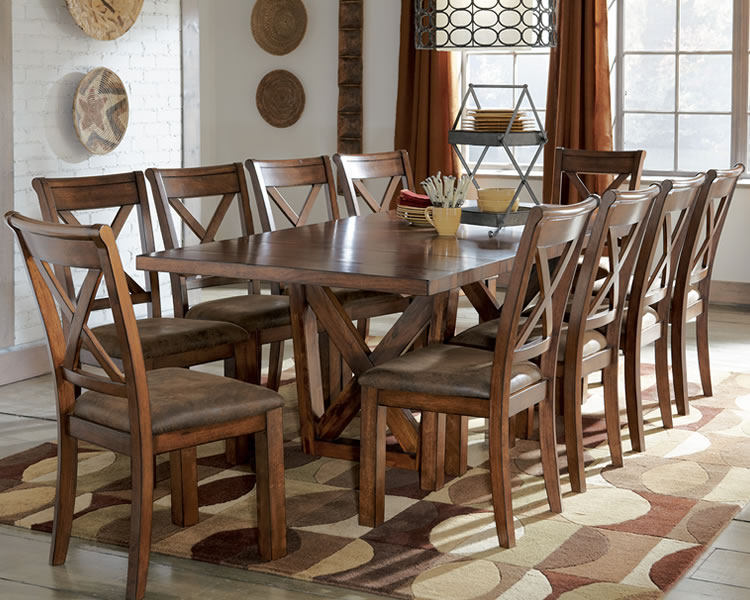 Inspirational of home interiors and garden rustic furniture sets for your dining room - Dining rooms furniture ...