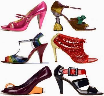 Contoh model sepatu sandal hak tinggi wanita cantik ...