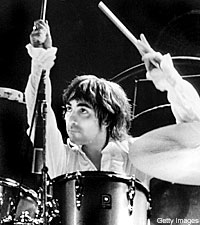 Burning the 11 59 oil neil peart drum solo from letterman - Keith moon rolls royce swimming pool ...