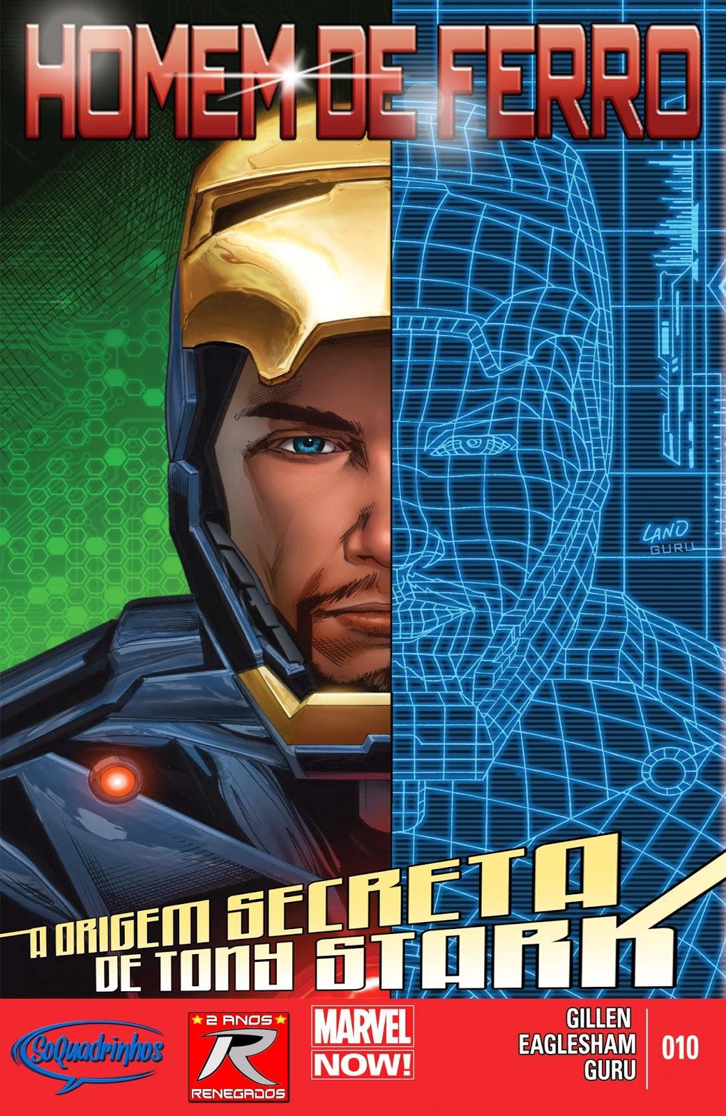Nova Marvel! Homem de Ferro v6 #10