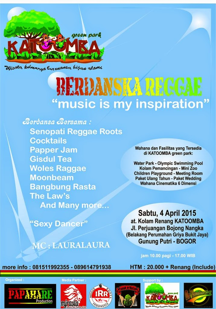 "Event : BerdanSKA REGGAE ""music is my inspiration"""