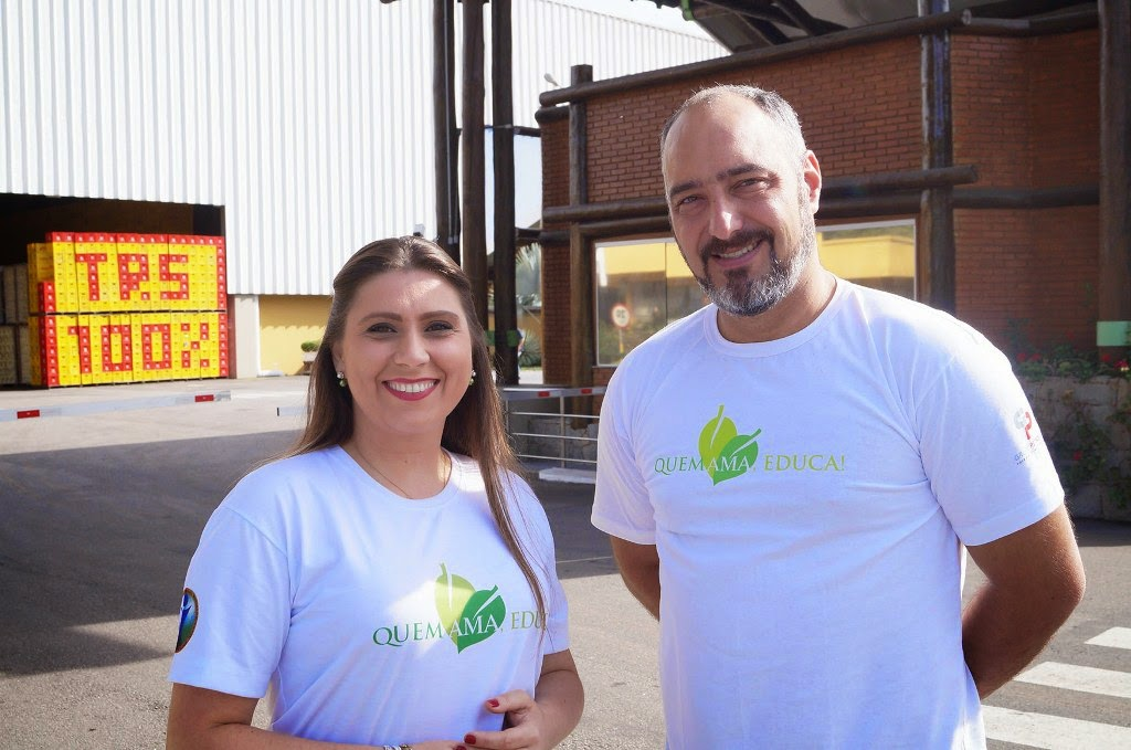 Leverci Silveira Filho e Karina Bruno do Instituo Chico Mendes