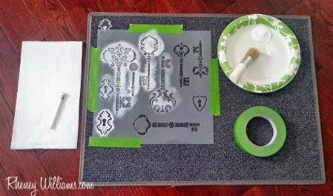 beginning steps for doormat design