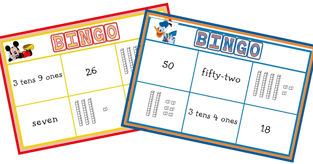 Miss Gs Classroom Bits Place Value Bingo