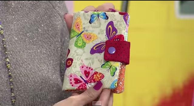 Como fazer uma carteira de tecido passo a passo
