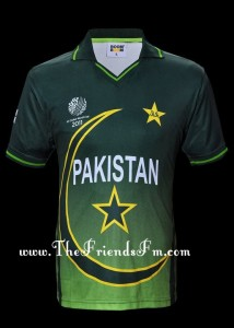 PAKISTAN CRICKET KIT 2011 WORLDCUP