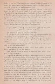 Programa del Torneo Internacional de Ajedrez Barcelona 1929 (5)