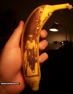 فنــــــــــــووون المــــــوز banana_art-painting.