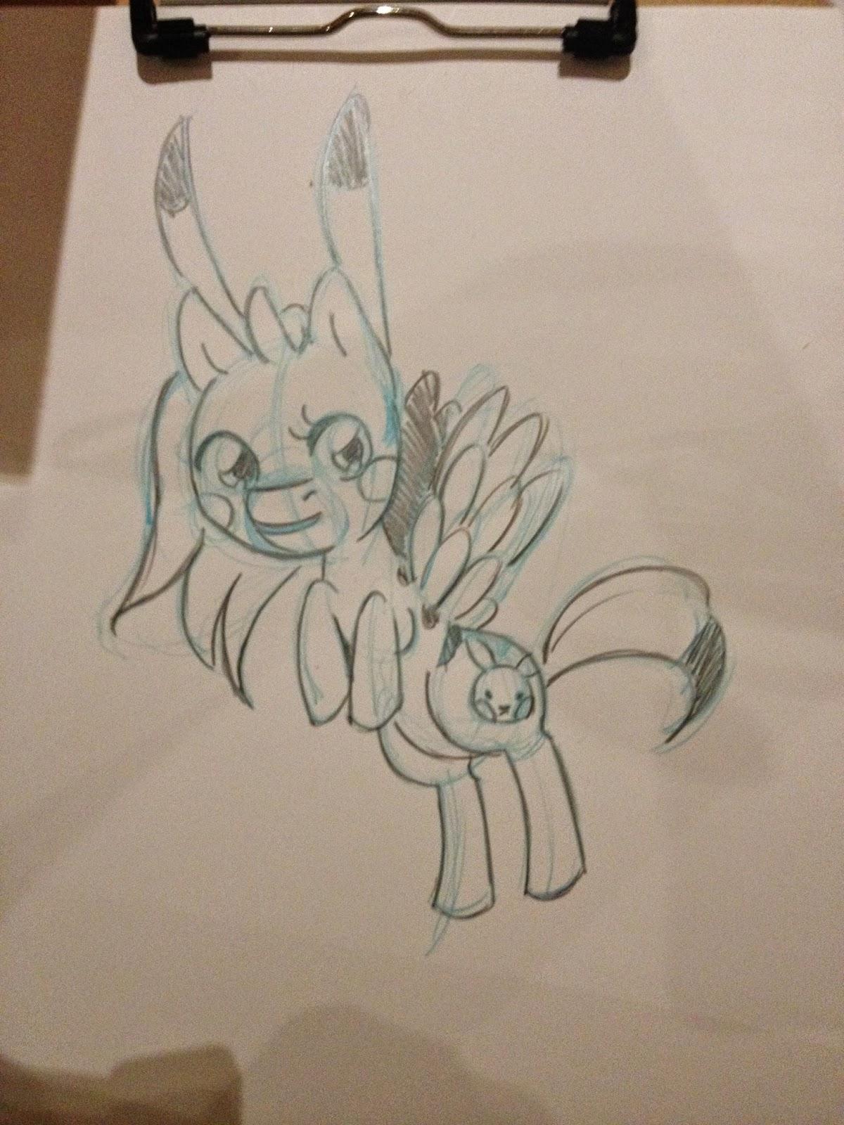 Nattosoup, GMX, pony sketch