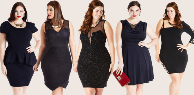 Clothing stores for plus size