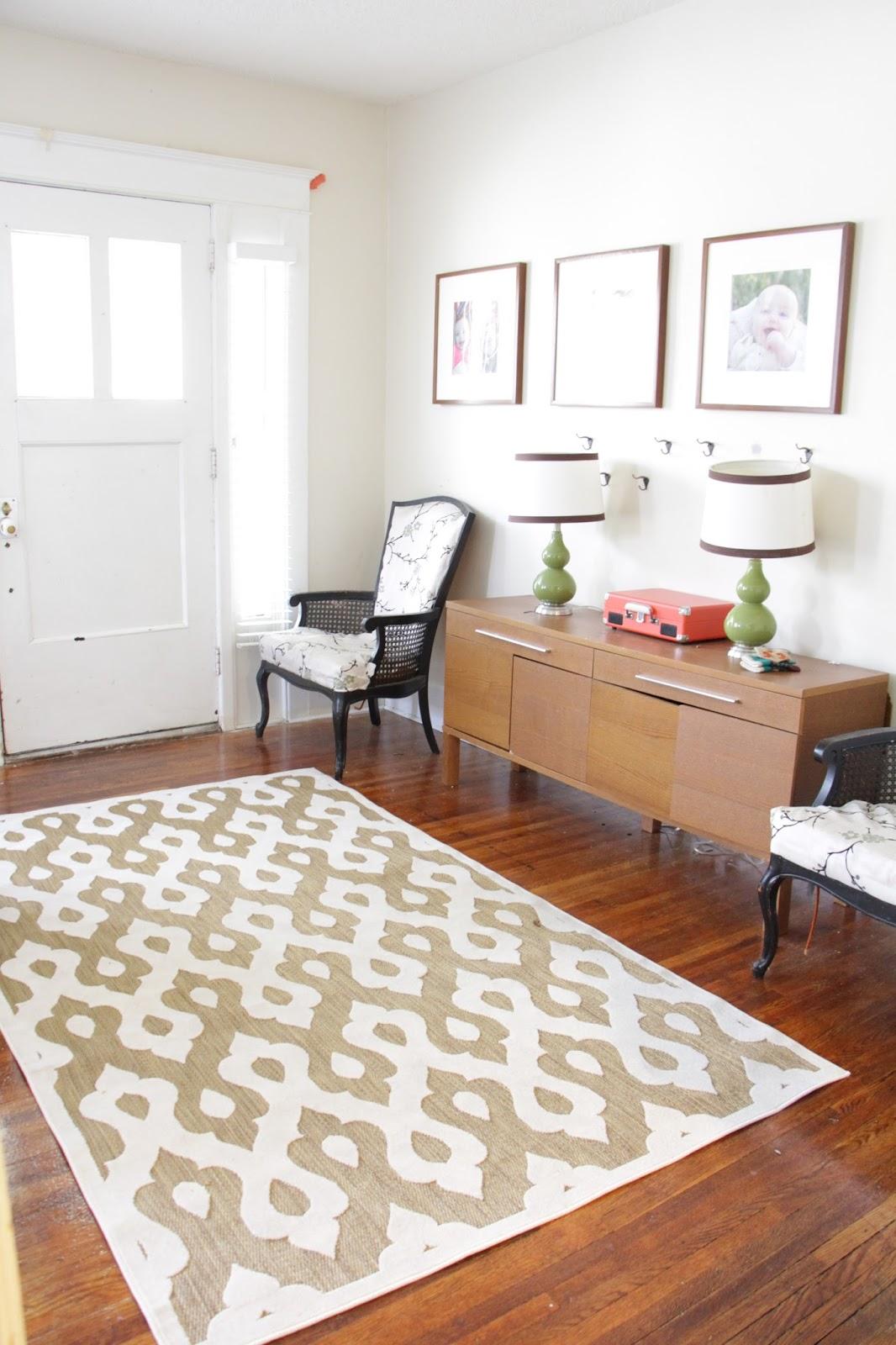 Grosgrain: Floor Throws instead of Carpets