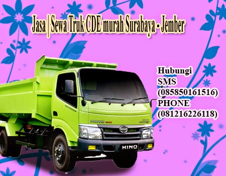Jasa | Sewa Truk CDE murah Surabaya - Jember