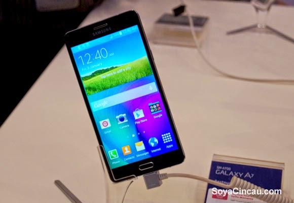 Samsung Galaxy A7 Dijangka Dilancarkan Di Malaysia Pada Awal Februari